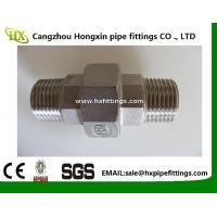 China high quality 2 inch npt female thread union stainless steel pipe fitting wholesale