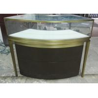 China Small Jewellery Display Cabinets / Glass Jewelry Case With Multi Color wholesale