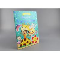 China Blue Gold Foil Stamping Board Books For Toddlers , Cartoon Figure Kids Board Books wholesale