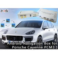 Buy cheap 720P/1080P Car Android Auto Interface GOOGLE MAP Video For Porsche Cayenne product