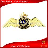 China custom high quality international medal badge for lion club wholesale