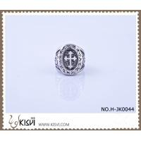 China OEM and ODM available 316l Stainless Steel Cross Ring #6 / #7 H-JK0044 wholesale