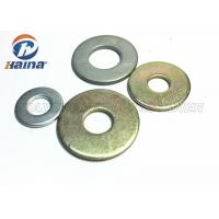 Quality Round Head Flat Washers A Type , Flat Steel Washers For Mechanical Machine for sale