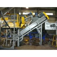 304 Stainless Steel 150 KW Polythene Bags Recycling Machines 300 Kg / H Full Automatic