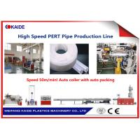 China PE-RT Pipe Production Line 50m/min PERT Heating Tube Production Machine wholesale