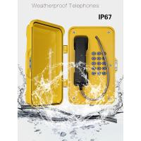 China Anti Vandal Industrial Weatherproof Telephone , IP67 Heavy Duty Telephone wholesale