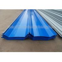 China Corrosion Resistant Prepainted Steel Corrugated Roofing Sheets Long Life Span wholesale