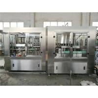 Automatic Liquid Bottle Filling Machine , Hanging - Neck Technology Water Processing Machine