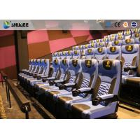 China Arc Screen 4D Cinema Equipment Simulator Motion Chairs Customized Color SGS wholesale
