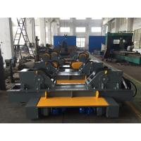 China Gray Painting  Fit-up  Conventional Welding Rotator Vessel Diameter 700mm - 5000mm WIth 2×2.2Kw wholesale