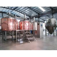 Quality copper beer brewing equipment, beer fermentation tanks for sales for sale