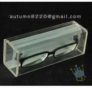 China BO (33) purple acrylic cosmetic case wholesale