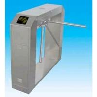 China Manual type 304 stainless steel security turnstile gate with reset system for enterprise wholesale