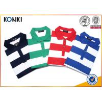China Fashion Style Custom Polo Shirt Classic Mens 100% Cotton Yarn Dyed Stripe on sale