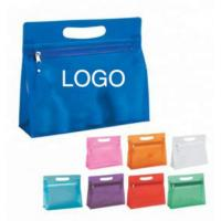 Buy cheap Transparent PVC Zipper Bag Makeup Skincare Packing For Outdoor Travelling from wholesalers