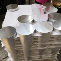 China Plain Mill Finish 3003 Aluminum Disc Blank Dia 50mm To 1600mm For Pots wholesale