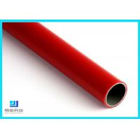 China Q235 Steel Pipe PE/ABS Coated Lean Tube OD 28mm For Production Line wholesale