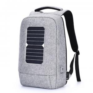 China Outdoor Solar Power Panel AJ Business Laptop Backpacks wholesale