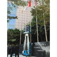 China 10 Meter Platform Height Self Propelled Work Platform For 2 Persons Aerial Work wholesale