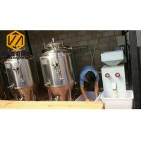 Quality Mini Home Beer Making Machine , 3 Yrs Warranty Beer Production Equipment for sale