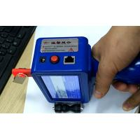 China Portable Inkjet Batch Code Printers Print Machine for Code Marking on Wood, Metal, Plastic, Carton wholesale