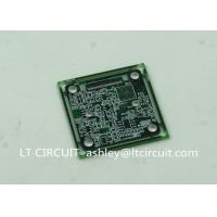 Quality Immersion Silver Multilayer PCB BGA IC Slots Cutout Green Solder Mask for sale
