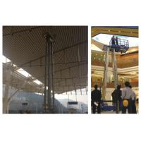 China Aerial Work Hydraulic Lift Ladder Four Mast 16m Working Height For Maintenance Service wholesale