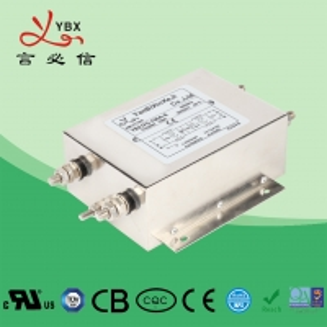 China Industrial AC Power Noise Filter , EMI EMC RFI 240V AC Mains Filter wholesale