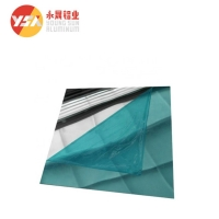 China Reflective T851 1500mm Width 0.3mm Thick Mirror Aluminum Sheet wholesale