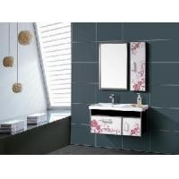 China Stainless Steel Bathroom Furniture / Cabinet / Vanity (F-3099) wholesale