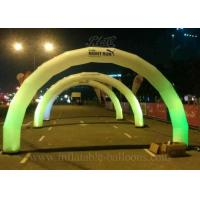 China FireRetardant Inflatable Arch , LED Lighting Airblown Arch EN14960 wholesale