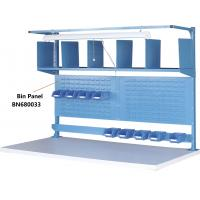 """Buy cheap Bin Panel Industrial Work Benches Hold Plastic Bins 60"""" P/C Finish from wholesalers"""