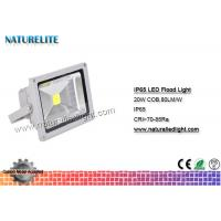 Buy cheap IP65 Led Flood Light White , High Power Led Flood Lights Outdoor 20W  Corrosion Resistant  Silicone Gaskets product