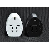 Quality Universal Used USB travel adaptor 110V-250V Iphone / ipad Tablet PC, MP3 charger surge protection electric plug adaptor for sale