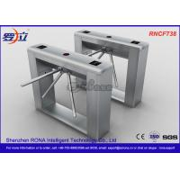 China Biometric Recognition Tripod Turnstile With Remote Button Control , CE Approval wholesale