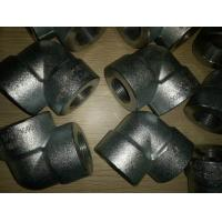China ASTM A105 Galvanized 90 degree Forged Pipe Fittings 3/4 Inch Elbow on sale