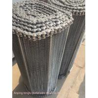 China Custom Flat Wire Compound Balanced Belt 304 316 316l Stainless Steel Conveyor wholesale