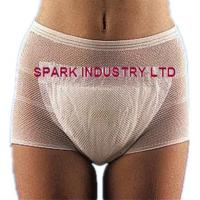 Quality Disposable Mesh Incontinence Pants Stretch Fixation With Maternity Care for sale