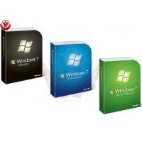 China Microsoft Win 7 Pro Coa Sticker / Upgrade Product Key Full Package wholesale