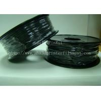 Quality Customized High Rigidity ABS Conductive 1.75MM/3.0MM 3D Printing Filament Black Plastic strip for sale