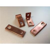 China Thick Bended Pure Copper Sheet Metal Bending Dies One Fixed Hole / Adjustable Hole wholesale