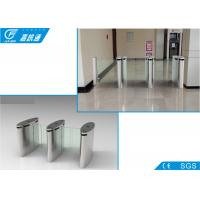 China 304 Stainless Steel Electronic Turnstile Gates Full Automatic Channel Width550 - 850mm wholesale