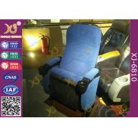 China Ergonomically Design Cinema Theater Chairs With Silence Folding Up Seat Pad on sale