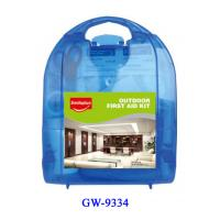 China Plastic First aid kits for vehicles , first aid box contents products wholesale