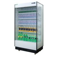 China 0.9m Front Open Multideck Open Chiller Dairy Food / Bevarage Display wholesale