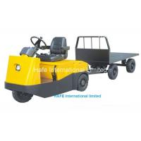 China 6T Electric Tow Tractor High Power Curtis Controller 48V Electric Trolley TG60 wholesale