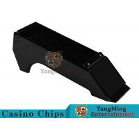 China Traditional Texas Holdem 6 Deck Card Shoe Special For Wide Or Small Cards wholesale