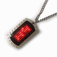 Buy cheap 2015 new fashion Flash pet LED name tag from wholesalers