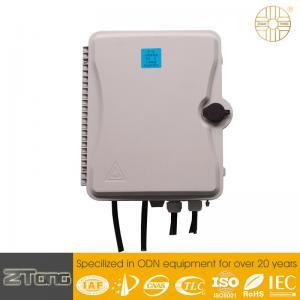 China Lightweight External Fiber Optic Distribution Box FTTX Appliacation Weather Proof wholesale