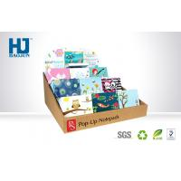 China Light Weight Counter Display Boxes CMYK Offset Printing For Notebooks / Cards wholesale
